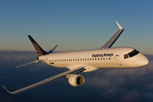 Embraer augsburg-airways-e-195