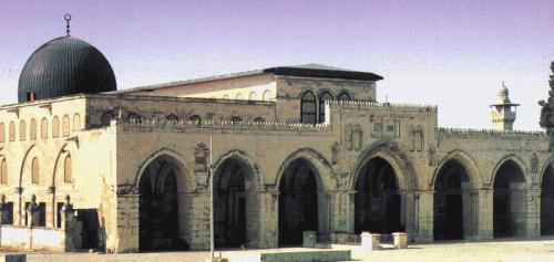Al Aqsha yang kini terjajah