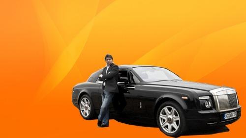 pekerja kaya mobil mewah