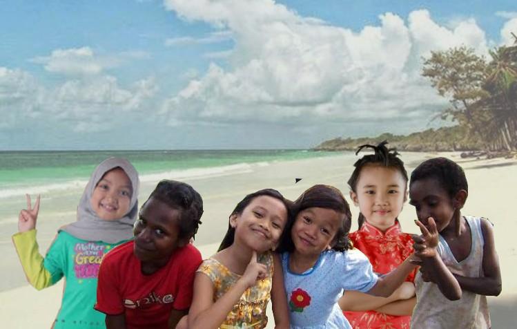 anak berbagai suku