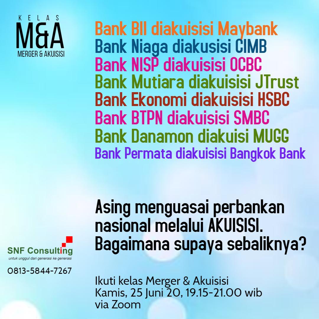 Kelas Merger Akuisisi versi bank