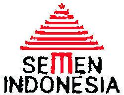 logo semen indonesia painted