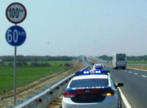 Hasil gambar untuk rambu kecepatan maksimum di jalan tol