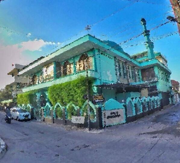 masjid jagokariyan painted