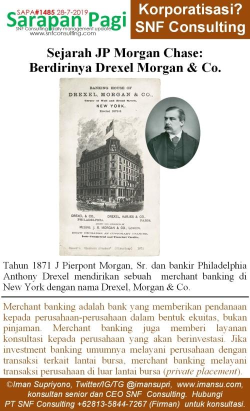 SAPA1485 Sejarah JP Morgan berdirinya morgan drexel and co~2
