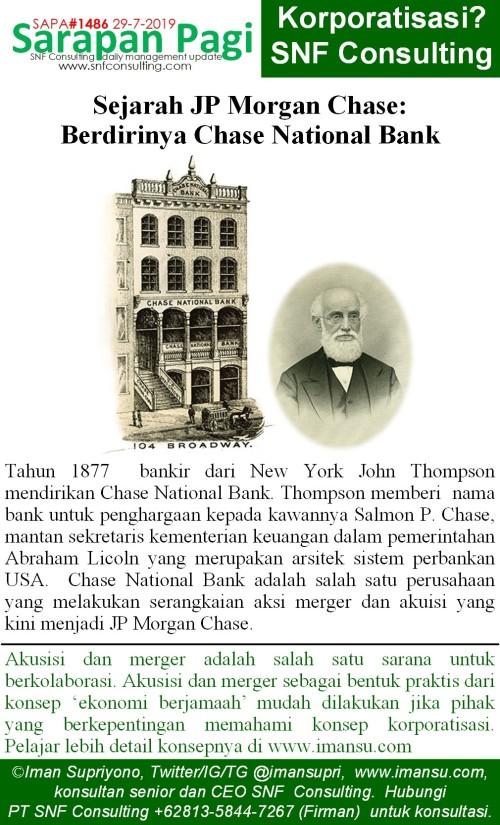SAPA1486 Sejarah JP Morgan berdirinya chase bank~2