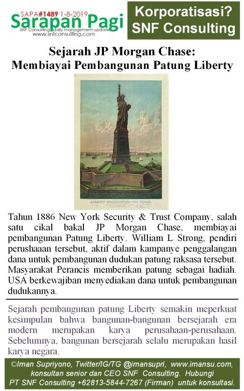 SAPA1489 Sejarah JP Morgan membiayai patung liberty