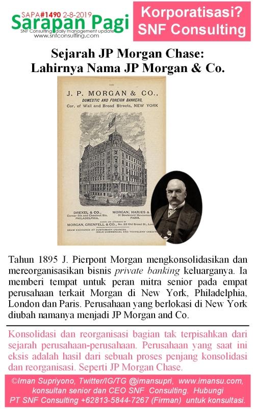 SAPA1490 Sejarah JP Morgan nama JP Morgan