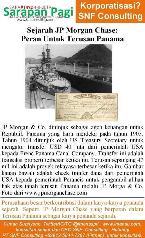 SAPA1492 Sejarah JP Morgan membiayai terusan panama~2