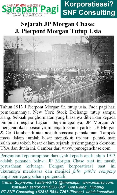 SAPA1494 Sejarah JP Morgan Chase JP Morgan senior tutup usia~2