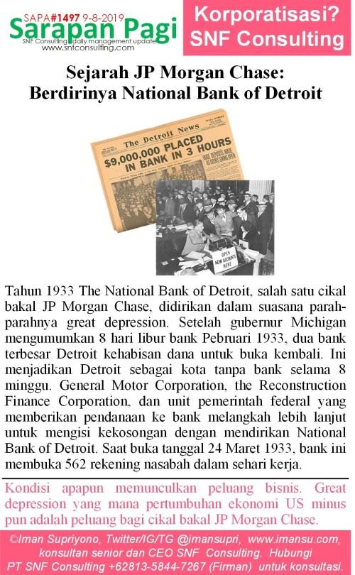 SAPA1497 Sejarah JP Morgan Chase berdirinya National bank of detroit~2