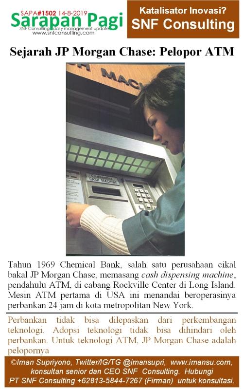 SAPA1502 Sejarah JP Morgan Chase pelopor ATM