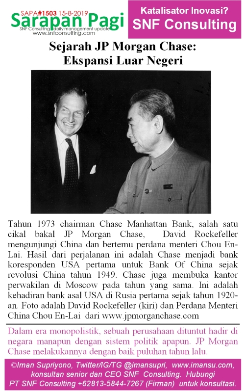 SAPA1503 Sejarah JP Morgan Chase pasar luar negeri