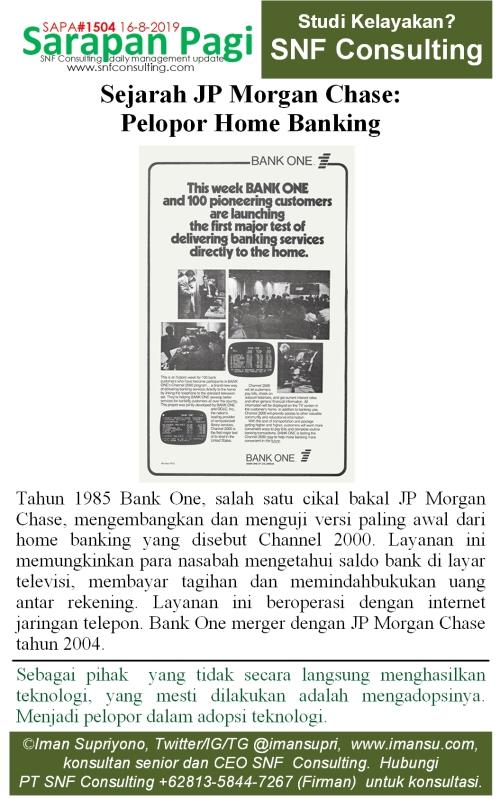 SAPA1504 Sejarah JP Morgan Chase home banking