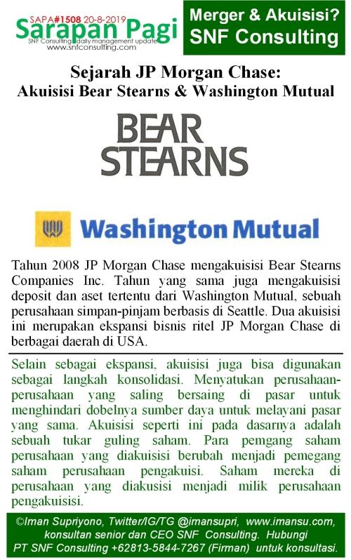 SAPA1508 Sejarah JP Morgan Chase akuisisi bear stern n washington mutual