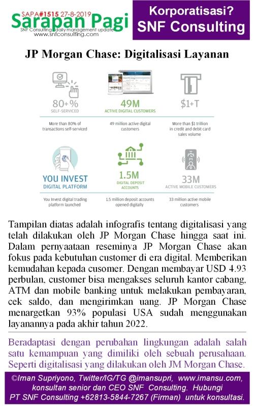 SAPA1515 JP Morgan Chase digitalisasi layanan