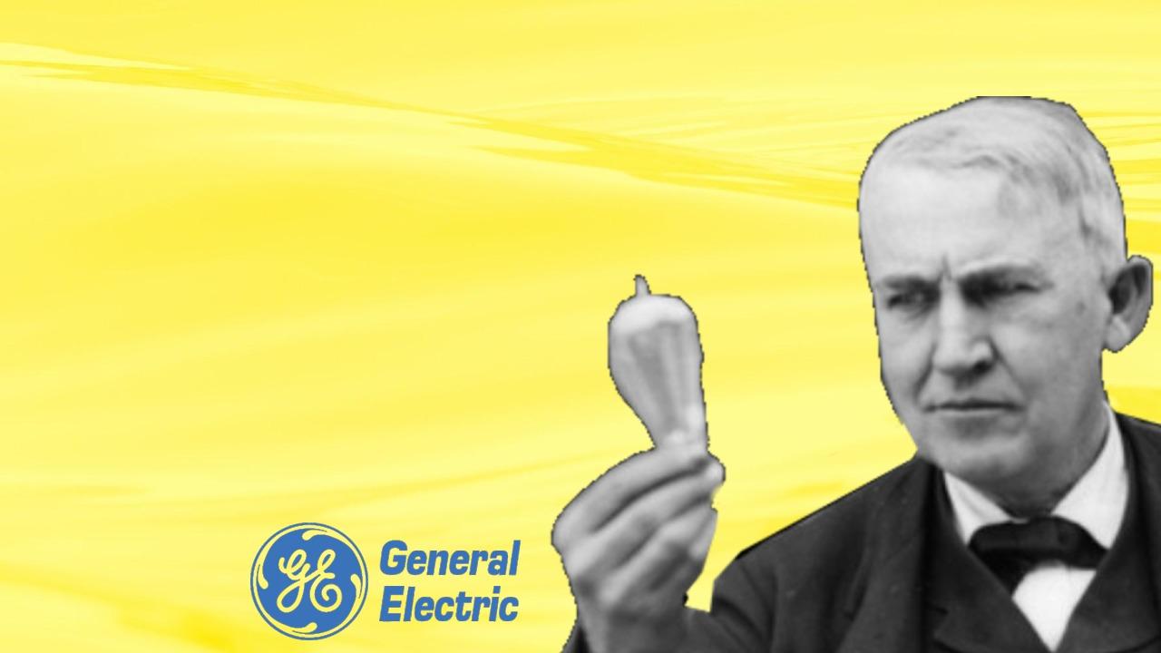 Thomas Edison logo GE