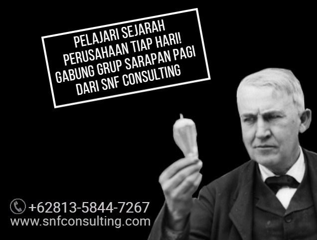 Edison sejarah perusahaan2