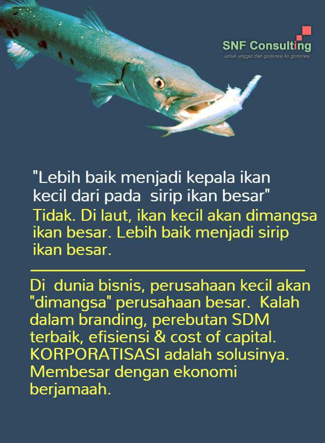 ikan kecil ikan besar korporatisasi1