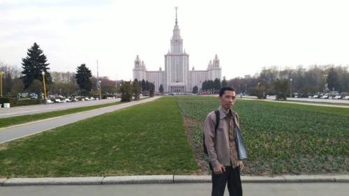 iman moscow university landscape