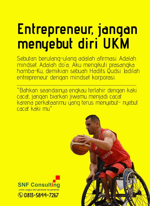 Jangan menyebut diri UKM2