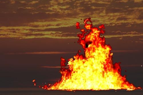 api membakar tangible asset