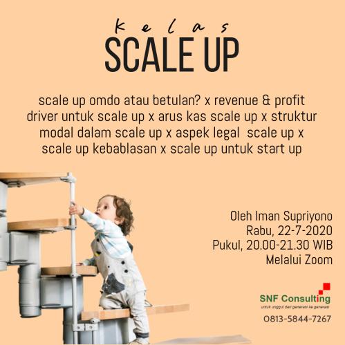Kelas Scale Up versi silabus