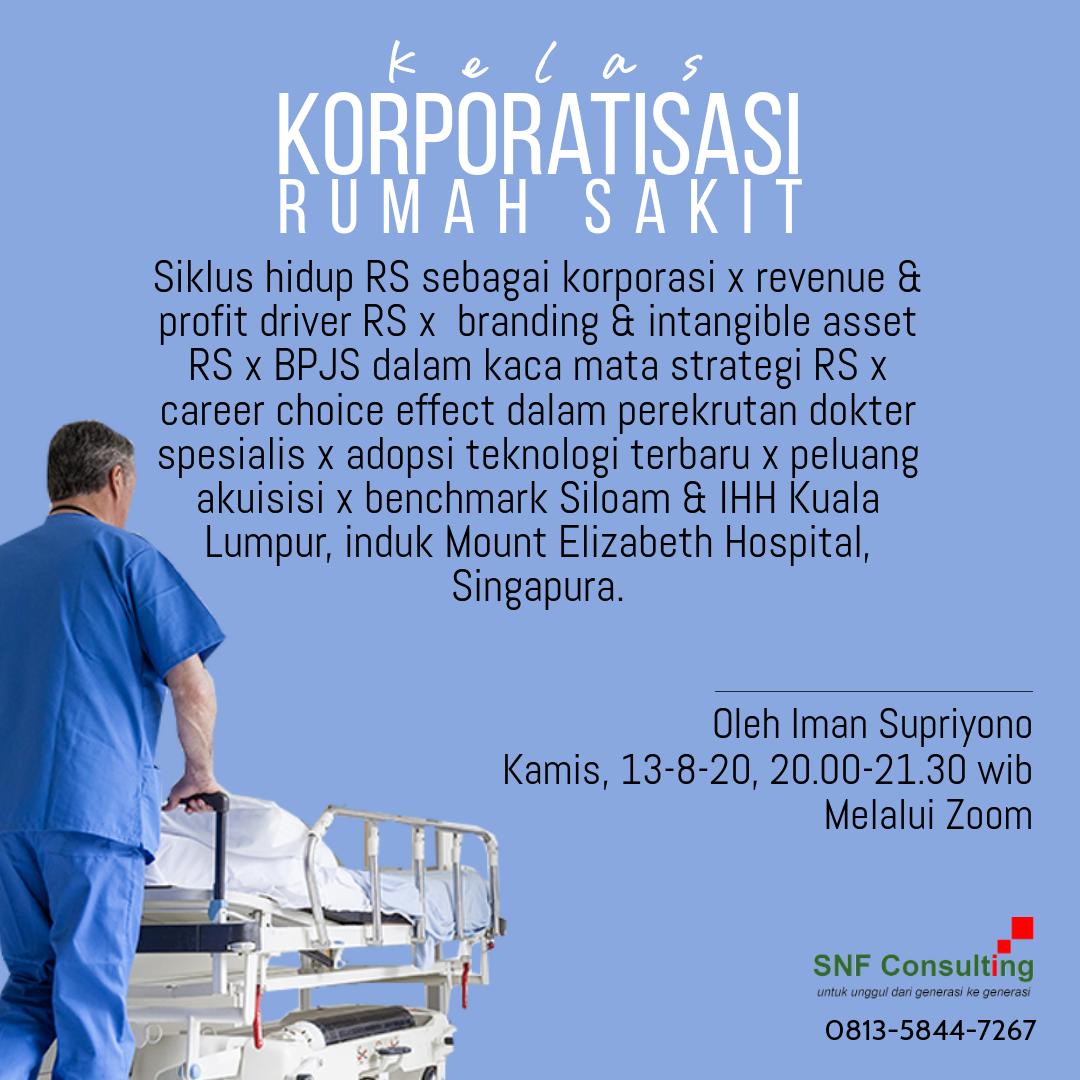 Kelas Korporatisasi rumah sakit